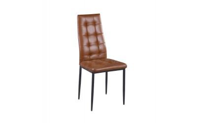 Стол К264 PU кафяв - Трапезни столове