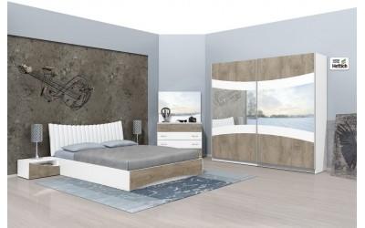 Спален комплект Сиена Н + матрак - Спални комплекти