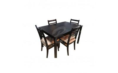 Трапезна маса Сара + 4 стола Стил - Трапезни маси