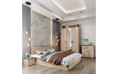 Спален комплект Сити 7056 + матрак - Спални комплекти
