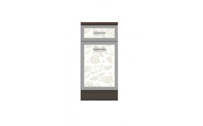 Долен модул В4 - 40 см - Кухня Регал Флауърс