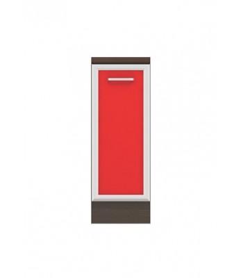 Долен модул B22 - 30 см - Кухня Регал червена