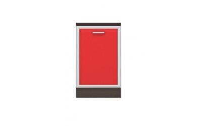 Долен модул B26 - 50 см - Кухня Регал червена