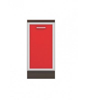 Долен модул B5 - 40 см - Кухня Регал червена