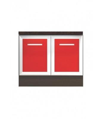 Долен модул B50 - 60 см - Кухня Регал червена