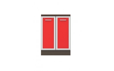 Долен модул B51 - 60 см - Кухня Регал червена