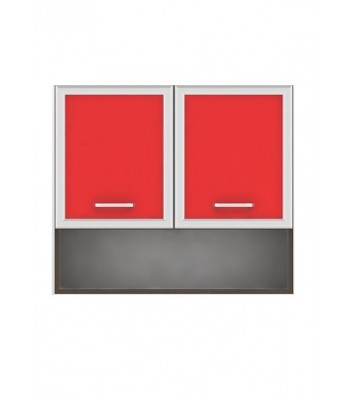 Горен модул G15 - 80 см - Кухня Регал червена