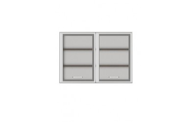 Горен модул G27 - 100 см - Кухня Регал червена