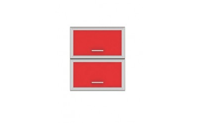 Горен модул G32 - 60 см - Кухня Регал червена