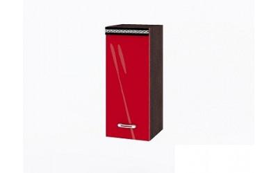 Горен модул ВП141 десен - 30 см - Кухня Версаче червена