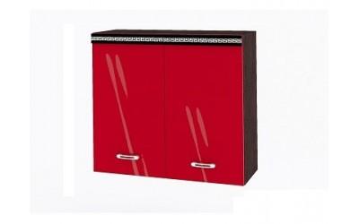 Горен модул ВП144-80 см - Кухня Версаче червена