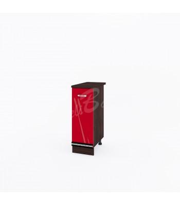 Долен модул ВП161 десен - 30см - Кухня Версаче червена