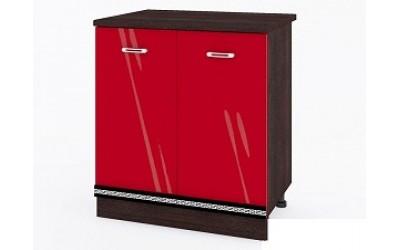 Долен модул ВП164-80 см - Кухня Версаче червена