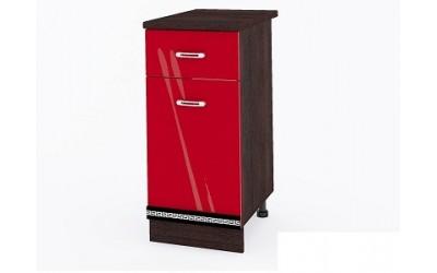 Долен модул ВП165 десен-40 см - Кухня Версаче червена