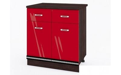 Долен модул ВП166-80 см - Кухня Версаче червена