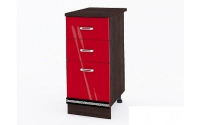 Долен модул ВП167-десен см - Кухня Версаче червена