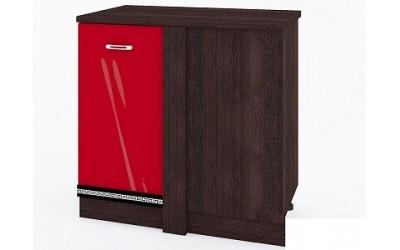 Долен модул ВП176 десен - 100см - Кухня Версаче червена