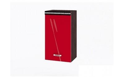 Горен модул ВП182 ляв-40 см - Кухня Версаче червена