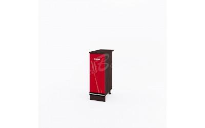 Долен модул ВП191 ляв - 30см - Кухня Версаче червена