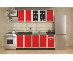 Кухня Регал червена