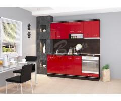 Кухня Версаче червена