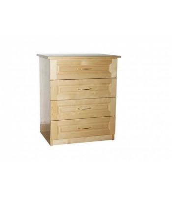 Скрин с четири чекмеджета - 80см - Скринове