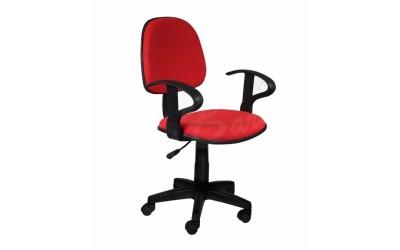 Офис стол Кармен 6012-червен - За офиса