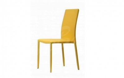 Трапезен стол К254 жълт - За дома