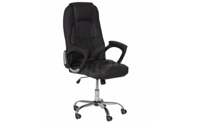 Офис стол Carmen 6505 - черен - За офиса