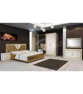 Спален комплект LUX Bianco Gold