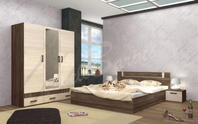 Спален комплект CITY 7021 - Спални комплекти