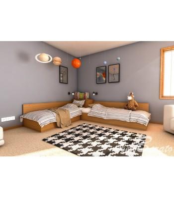 Ъглови легла + матраци - Легла