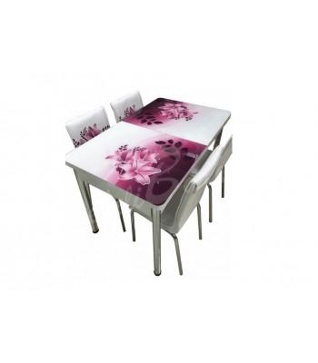 Комплект маса+ 4 стола Bergama 2