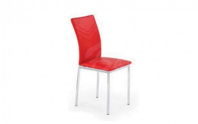 Трапезен стол К207 червен - За дома