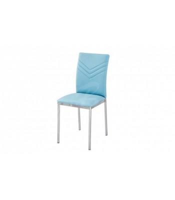 Трапезен стол К207 син - За дома
