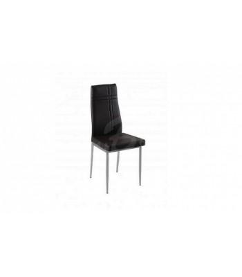 Трапезен стол К212C черен - За дома